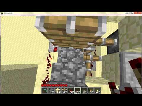 Minecraft Beta 1.7.3 - Piston elevator V2.0