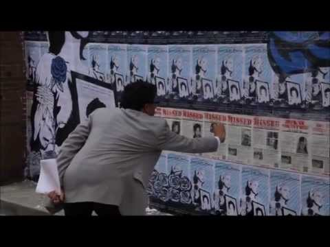 Posters of Protest: TeleSUR Segment about SOA Watch DC Mural Action