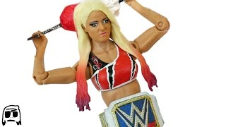 Alexa Bliss WWE Smackdown Womens Champion Custom Fix Up Toy Elite 3D Print Fig Hack!!