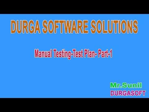 Manual Testing Test Plan  Part 1
