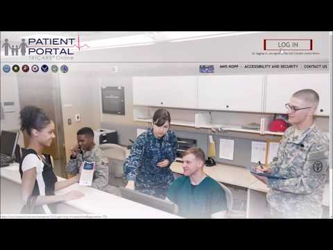 Download your military medical records online