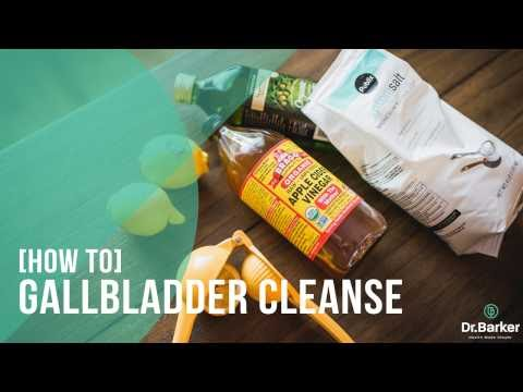 How to do a simple liver and gallbladder cleanse