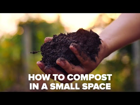 How To Compost In A Small Space