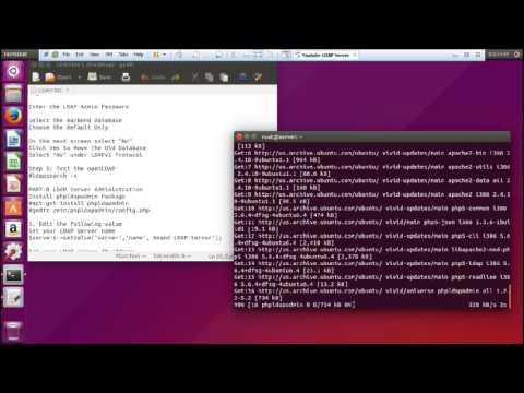 Installing and Configuring openLDAP Server on Ubuntu 15 04 and 14.04