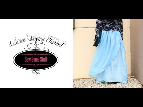 Enchanted Layered Maxi Skirt Tutorial
