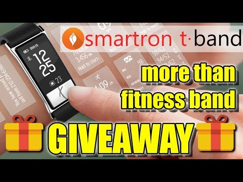 Smartron t.Band Not Just Unboxing, Review & Giveaway, More Than Just Fitness Band