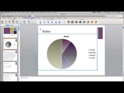 How to Create a Graph in Powerpoint