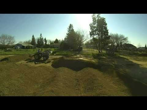 Time Lapse Motocross Track Build 2.0