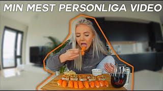 NI HAR VELAT ATT JAG SKA PRATA OM DET HÄR I ETT HALVÅR.... sushi mukbang!!!!!!!!!