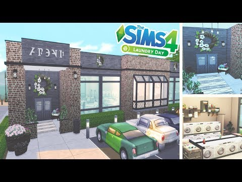 The Sims 4 - Laundry Day Stuff Pack | Rustic Laundromat