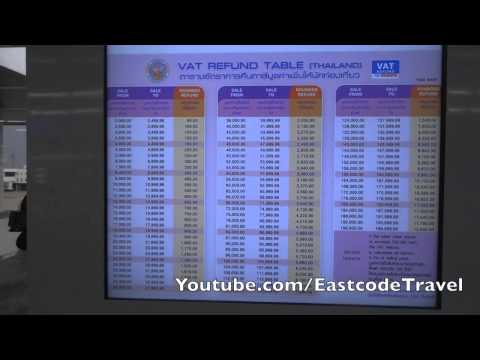 VAT refund counter DMK Don Mueang Airport