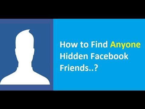 How to see hidden friends of someone on Facebook? Facebook Bug Not Working