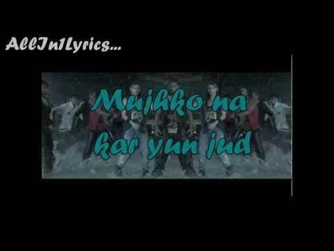 Bezubaan -Official full song lyrics on screen| Any Body Can Dance (A.B.C.D.) | Allin1lyrics