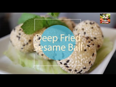Ramadan recipe: Deep-fried sesame balls