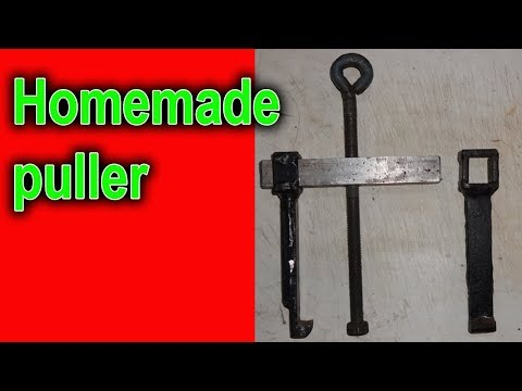 Puller made with own hands