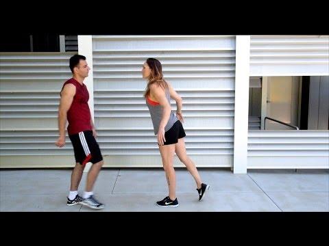 Bold Guy vs Parkour Girl