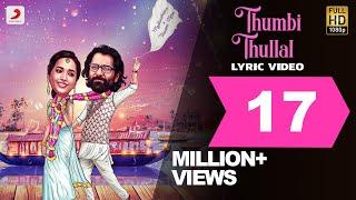 Cobra - Thumbi Thullal Lyric   Chiyaan Vikram   AR Rahman   Ajay Gnanamuthu   7 Screen Studio