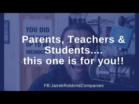 FB Live Repost: Parents, Teachers & Students.... this one is for you!!