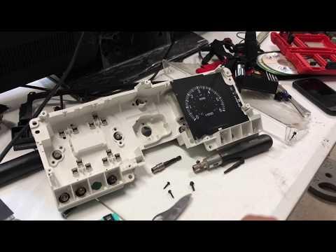 DIY: 88-96 Ford F Series gauge cluster led conversion