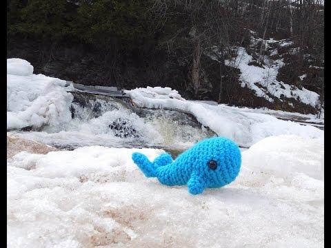 Amigurumi Crochet Whale Tutorial