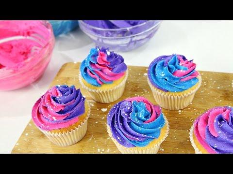 Galaxy Cupcakes - CAKE STYLE