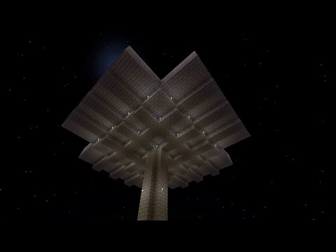 Minecraft: Tutorial, Sky mob grinder. PS4 XB1, PC