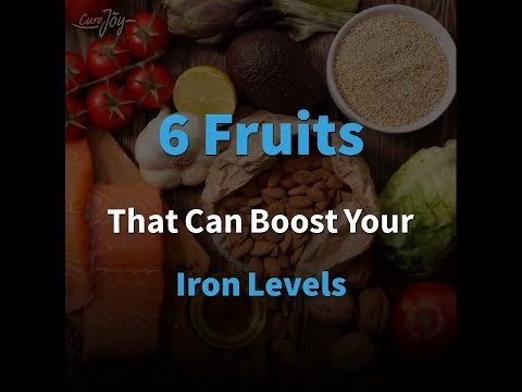 6 Fruits That Can Boost Your Iron Levels