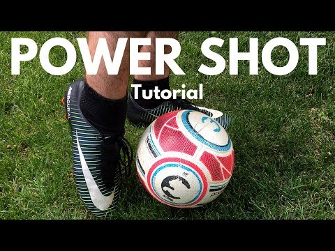 Soccer Power Shot Technique | Start Crushing The Ball Accurately!