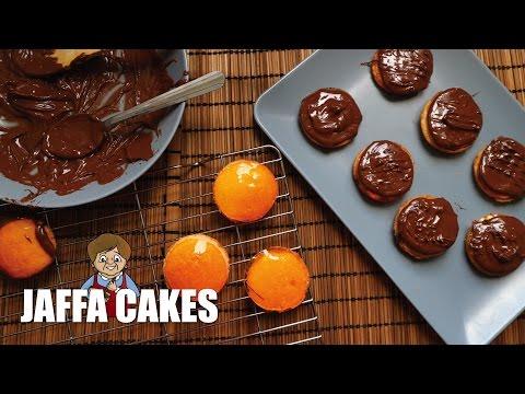 HOW TO MAKE JAFFA CAKES   Mama Lotties