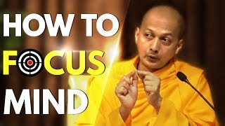 Swami Sarvapriyananda explains How to Focus Mind under difficult circumstances