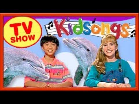 We Love Dolphins | Splish Splash | 3 Little Fishies | Kidsongs TV Show | PBS Kids | Silly Songs