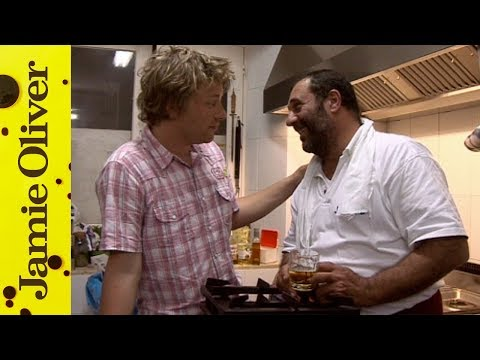 Jamie Oliver and the Fisherman Chef