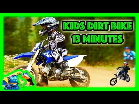 Freestyle Dirt Bike Tricks | Moving Machines Motorcycle for Kids