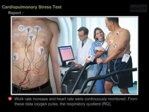 Cardio Pulmonary Stress Test