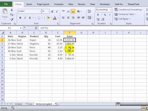 Problems With Excel Copy and Paste Multiple Selections