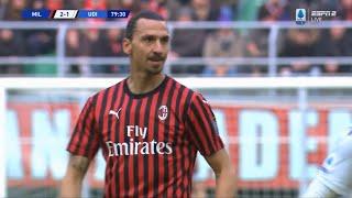 Zlatan Ibrahimović | Milan 3-2 Udinese | 2019-20 Serie A Giornata 20