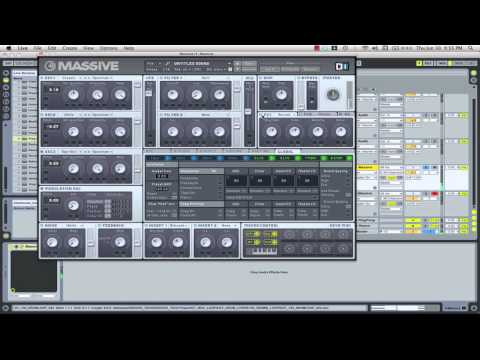 Anthony Ross - Deep House Chords & Massive Tutorial with DJ Anthony Ross