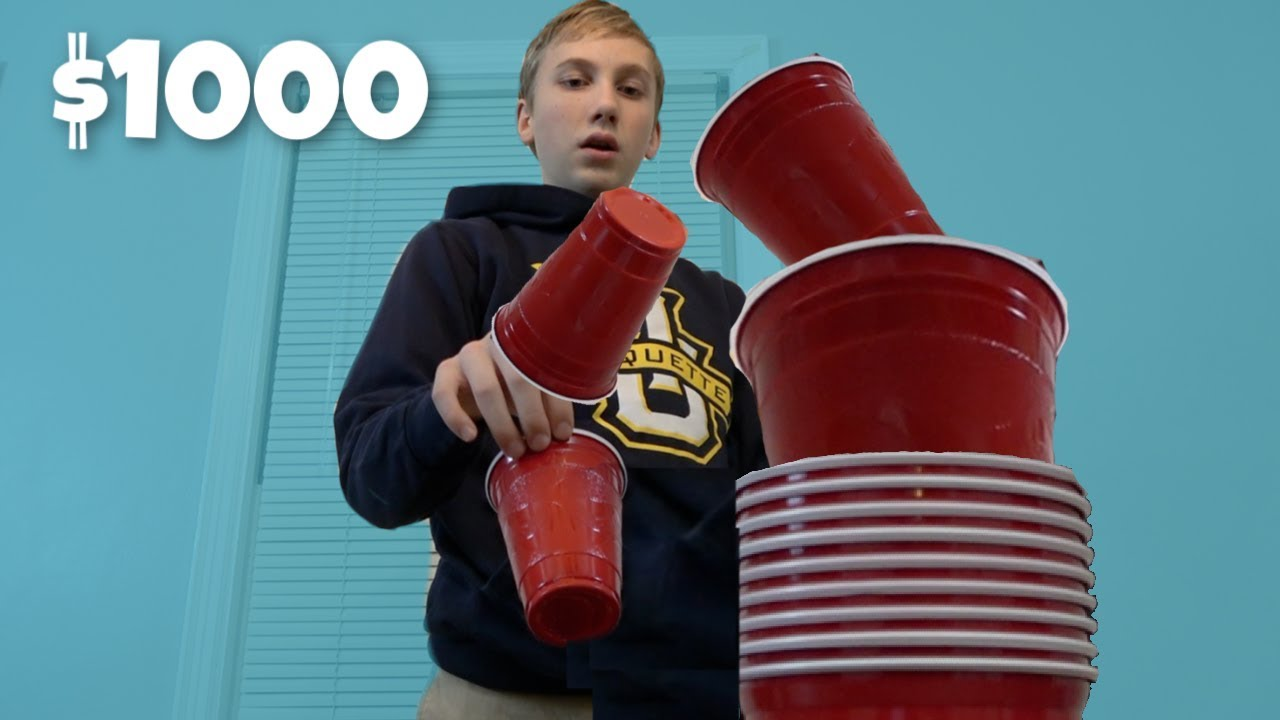 Real Life Trick Shot Challenge 2 for $1,000  | That's Amazing