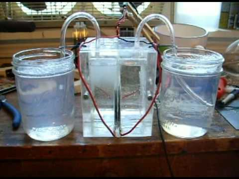 Hydrogen Oxygen separated electrolysis unit
