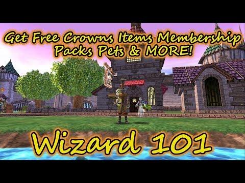 Wizard101: Get Free Crowns Items Membership Packs & MORE! No Hack