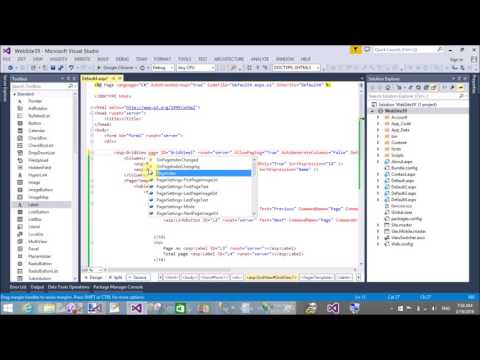 PagerTemplate in GridView ASP.NET C#