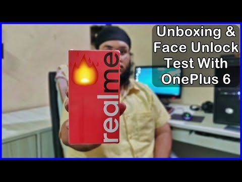 RealMe 1 Unboxing & Face Unlock Test [Helio P60 | 6gb | 128gb]