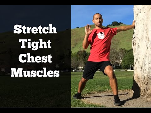 Shoulder Rotator Cuff Exercises #1 - Releasing Tight Pec Muscles