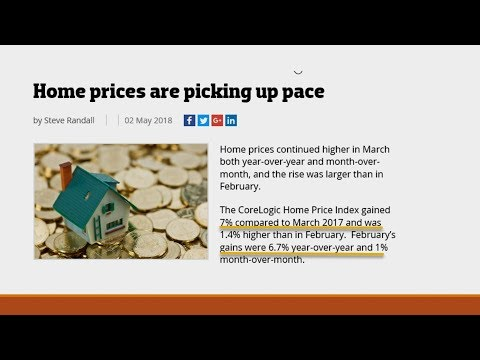 Home Prices Are Picking Up Pace!