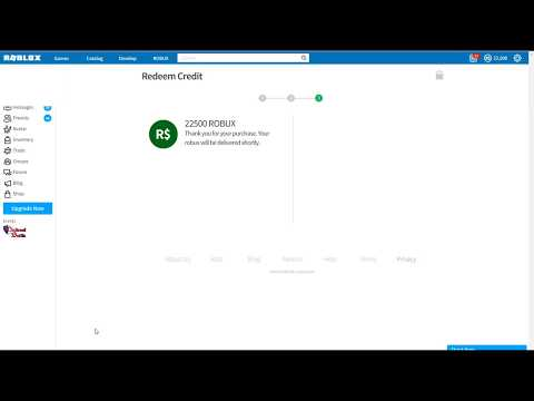 How to get MORE FREE ROBUX! Working August 2017! 22500 ROBUX!