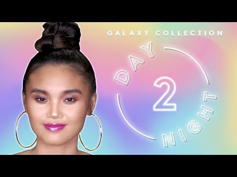 FENTY BEAUTY GALAXY COLLECTION: DAY 2 NIGHT TUTORIAL