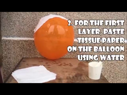 How to Make a DIY Moon Lamp.