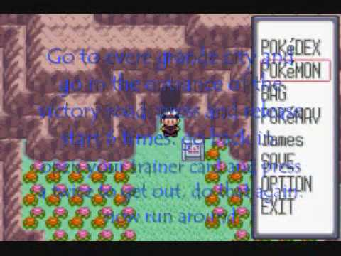 How to catch mewtwo in pokemon ruby