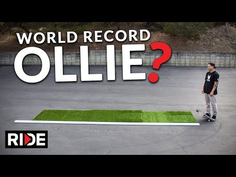 World Record Ollie - Jordan Hoffart