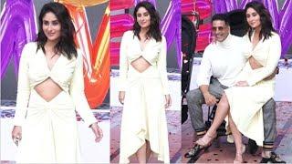 Kareena Kapoor Beautiful In OPEN Dress At Good Newwz Movie Trailer Launch